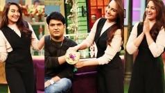 LOL! Akira hottie Sonakshi Sinha broke Kapil Sharma's heart by tying him a rakhi!