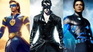 Is Tiger Shroff's Flying Jatt a hotter superhero than Hrithik Roshan's Krrish and Shah Rukh Khan's Ra.One?