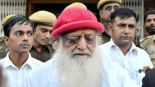Self-styled godman Asaram facing rape charge hopes his painful days will pass soon