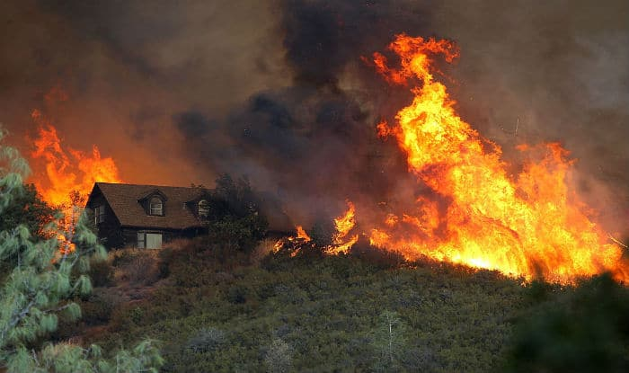 Southern California Wildfire Triples in Size