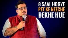 Jeeveshu Ahluwalia's stand up comedy about people asking stupid questions to fat people is just spot on!