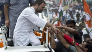 उत्तर प्रदेश चुनाव: किसान यात्रा के दौरान जौनपुर के रास्ते आजमगढ़ पहुंचेंगे राहुल गांधी