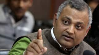 Court grants bail to MLA Somnath Bharti, says he deserves it