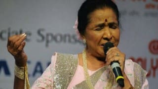 Asha Bhosle delivers emotional speech on 83rd birthday