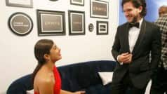 Priyanka Chopra and Kit Harington met at Emmys backstage and we can't get over it!