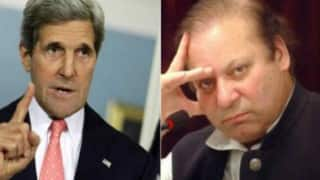 John Kerry asks Nawaz Sharif to take steps to deal with terror groups