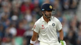 India vs New Zealand Test series 2016: Gautam Gambhir returns to India Test squad after two years, replaces KL Rahul