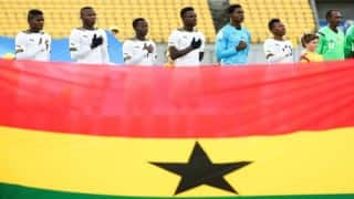 Ghana drop 8 places in latest FIFA rankings