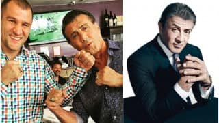 Sylvester Stallone brushes off death hoax with this fun picture with Sergey Kovalev!