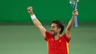 Davis Cup 2016: Marc Lopez and David Ferrer win as Spain blank India 5-0