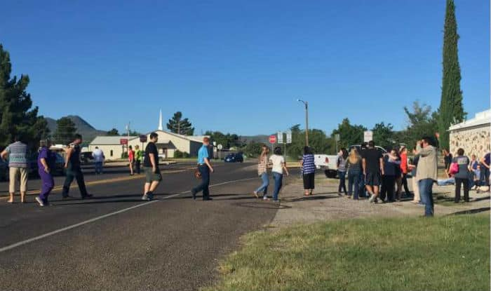 Texas police report active shooter situation at high school