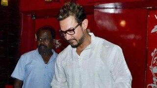 स्टाइलिश लुक में स्पॉट हुए आमिर खान