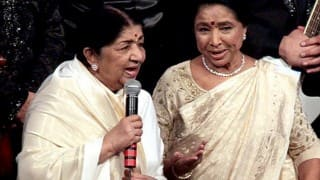 Asha Bhosle birthday: Legendary singer Lata Mangeshkar gives blessings to her sister
