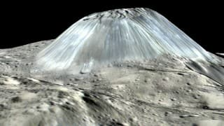 NASA discovers young cryovolcano on dwarf planet Ceres