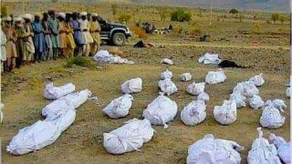 Pakistan's atrocity in Balochistan exposed! Woman tweets chilling pictures of dead bodies