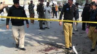 10 injured in suicide blast during Eid prayers in Pakistan