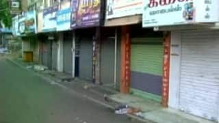Tamil Nadu Bandh today: Across Tamil Nadu majority of shops remained closed