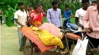 Odisha horror: Tribal woman carries body of kin in trolley-rickshaw due to lack of transport facilities