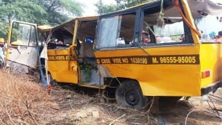 Amritsar: 5 kids dead, 10 injured as school bus falls into canal