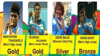 Paralympic medallists to be recommended for Padma awards