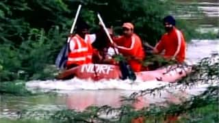 Karnataka: Gulbarga city flooded after heavy rainfall, rescue operations underway