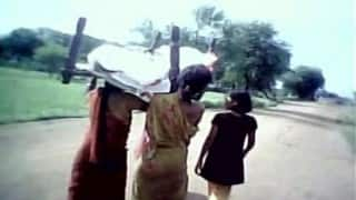 Tragic! Odisha daughters forced to dismantle roof for wood for mother's funeral pyre