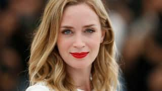 Aww! Emily Blunt broke baby news to co-star Luke Evans before stunt scene
