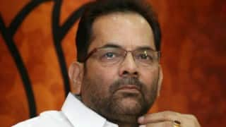 Ensuring prosperity of poor, minorities, Dalits should be rajdharma: Mukhtar Abbas Naqvi