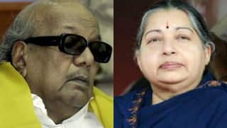 Put an end to rumours on Jayalalithaa's health: Karunanidhi to government