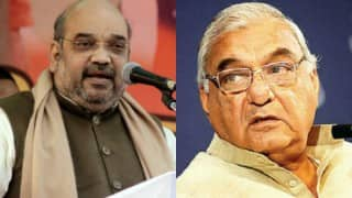 Amit Shah targets Bhupinder Singh Hooda, says he was serving 'Delhi ke damaad'