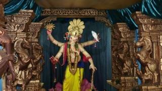 Amid incessant rains, Mumbai bids adieu to Bappa
