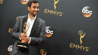 Aziz Ansari, Alan Yang Win Emmy for Hit Netflix Show, 'Master of None'