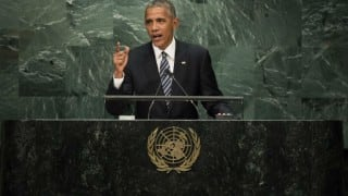UN General Assembly: Nations engaged in 'proxy wars' must end them, says Barack Obama