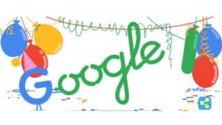Google's 18th birthday: Doodler Gerben Steenks designs today's Doodle