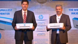 HP Launches world's smallest inkjet printer which is so small, it can fit in a McDonalds food tray!