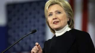Hillary Clinton calls for intel surge to thwart terrorist attacks