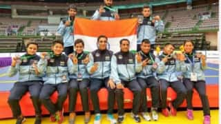 Indian wushu team wins 9 medals in Asian Championship