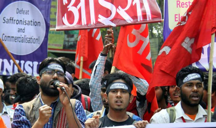 JNUSU polls: Left Unity decimates ABVP. Sedition gambit fails
