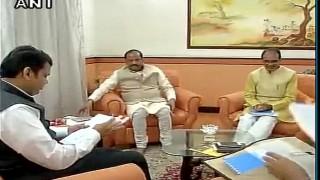 झारखंड और महाराष्ट्र के मुख्यमंत्री भोपाल पहुंचे