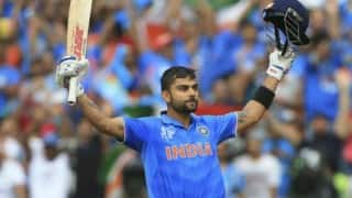 Virat Kohli remains steady at number two in the latest ICC ODI rankings for batsmen