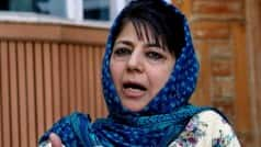 Mehbooba Mufti meets Governor, Kashmir situation discussed