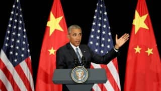 Barack Obama discusses political agenda with Congress leaders for the next fiscal year