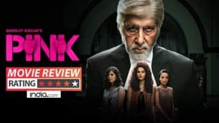 Pink movie review: Amitabh Bachchan and Taapsee Pannu's powerful film with brilliant performances!