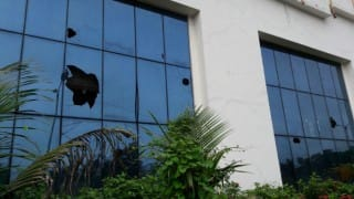 Navi Mumbai: Stone pelted at Saamana office in Vashi for mocking at Maratha Mook Morcha