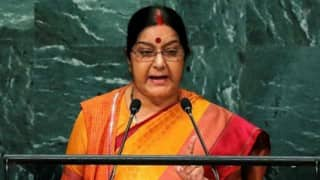 Sushma Swaraj at UN: India set no preconditions for talks, but Pakistan spurned friendship