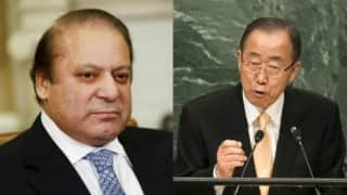 Nawaz Sharif's bluster failed! No mention of Jammu and Kashmir issue in Ban Ki-Moon's  UNGA address