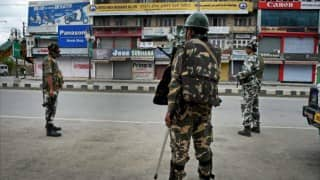 Uri terror attack: Curfew continues in some parts of Kashmir, state on high alert