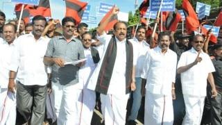 Tamil Nadu bandh today: Kanimozhi, Vaiko detained; farmers stage 'Rail Roko' at Saidapet railway station