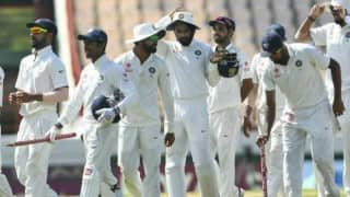 India vs New Zealand: India close in on big win in historic 500th Test