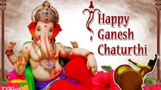 Happy Ganesh Chaturthi 2016 in Hindi: Best Ganpati Messages, WhatsApp & Facebook Status, Quotes, wishes, SMSes & greetings to share